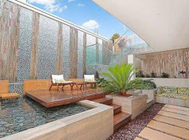 luxury-home-waterfall-pond-area